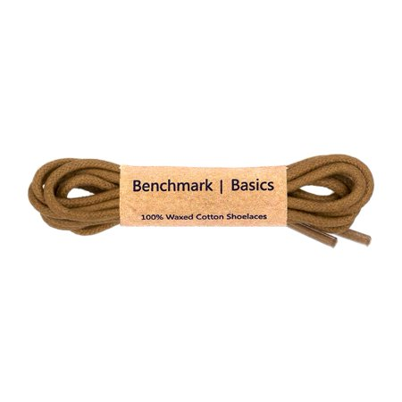 Walnut Round Waxed Cotton Shoelaces - 2mm Width (30