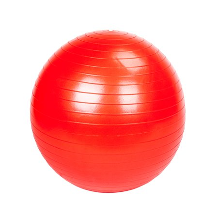 Zimtown 75 cm Yoga Ball with Air Pump, Anti Burst Exercise Balance Ball, for Home Gym Workout Stability Pilates Training (Air Pump Exercise Ball)