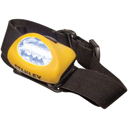 STANLEY Twin Pack 5-LED Alkaline Hands Free Headlamp (HL2PKS)
