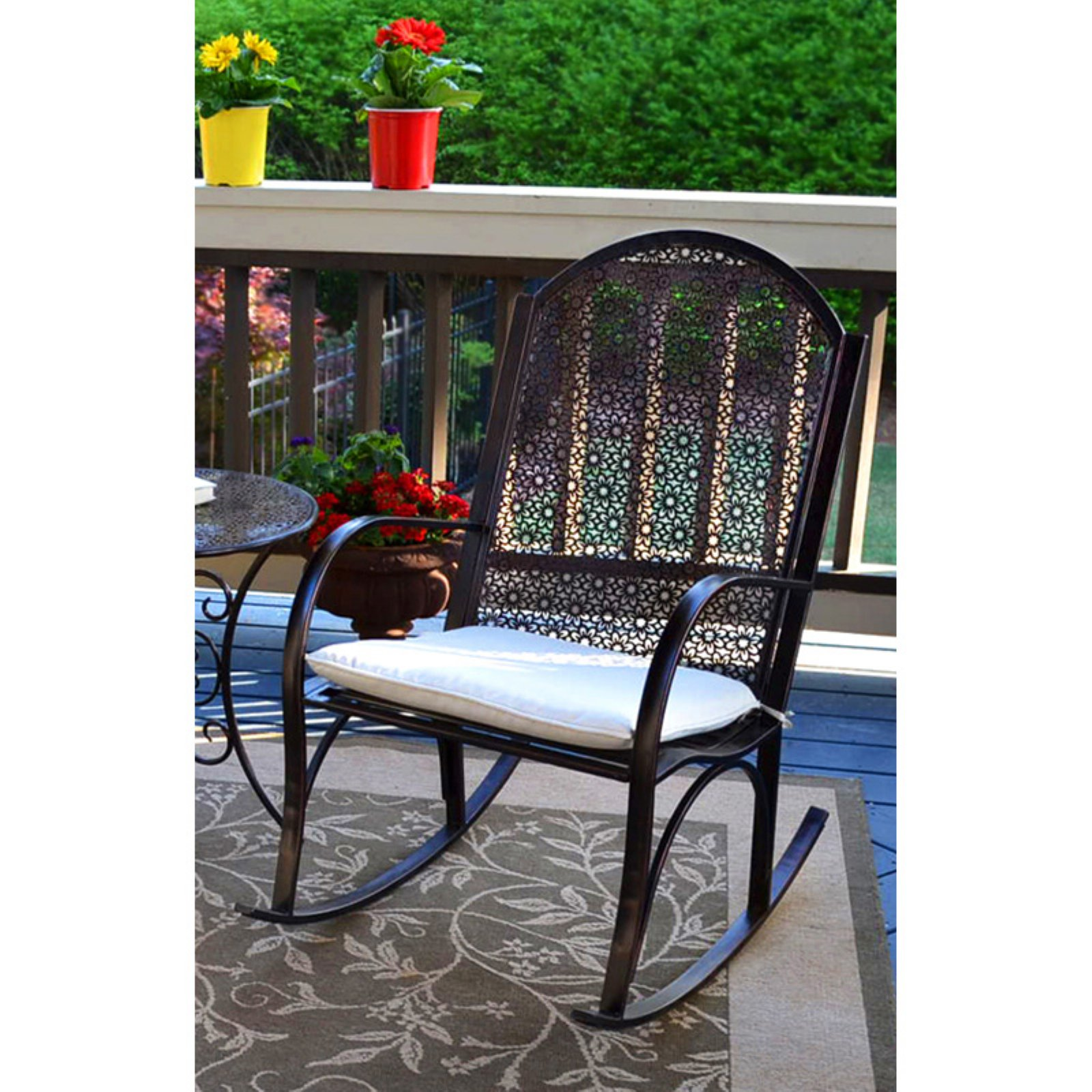 Tortuga Outdoor Rocking Chair With Cushion