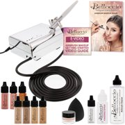 Best None Airbrush Makeup Kits - Belloccio Professional Beauty Airbrush Cosmetic Makeup System Review