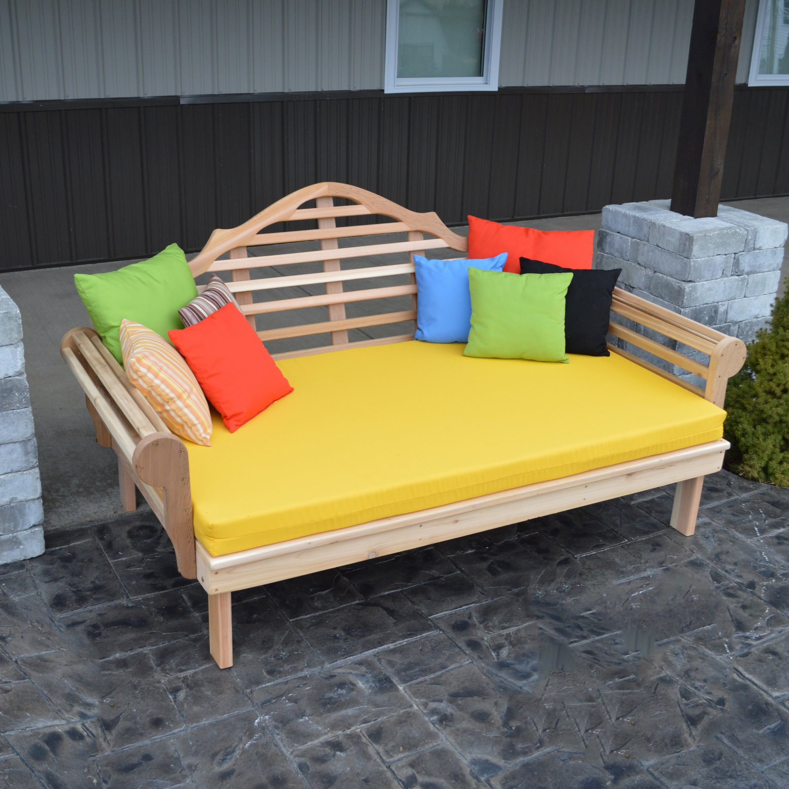 A & L Furniture Western Red Cedar Marlboro Daybed