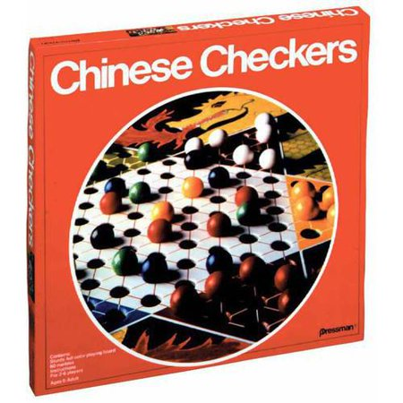Pressman Chinese Checkers (Chinese Checkers Game Board)