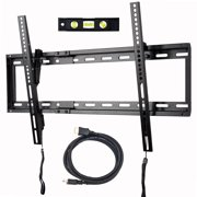 "VideoSecu Tilt TV Wall Mount for Most 32""-70"" Sony, Vizio, LG, Sharp, Panasonic LCD LED Plasma 3D HDTV Flat Panel Screen 4K TV Bracket, with HDMI Cable bxc"
