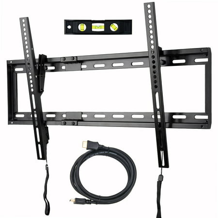 VideoSecu Tilt TV Wall Mount for Most 32 39 40 42 43 46 47 48 50 55 60 65 70 inch LCD LED Plasma HDTV 3D Flat Panel Screen Bracket