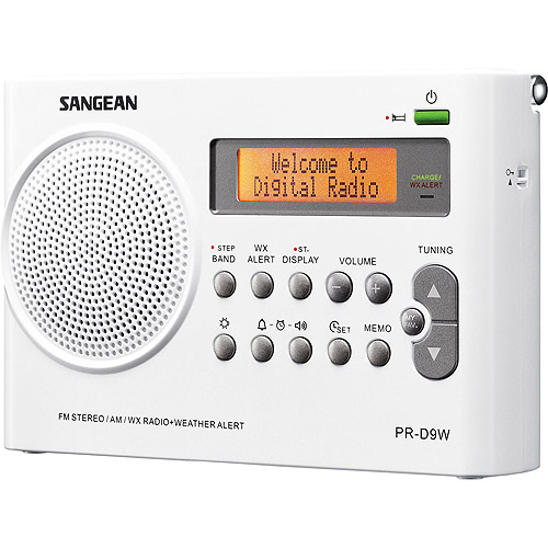 Sangean Compact Portable Digital AM/FM/Weather Band Radio