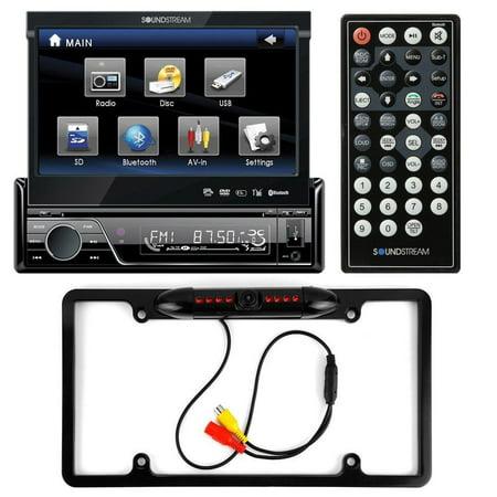 Soundstream VIR-7830B Single-DIN Bluetooth Car Stereo DVD Player w/ 7