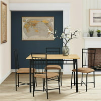 Mainstays 5 Piece Dining Set WM275P2