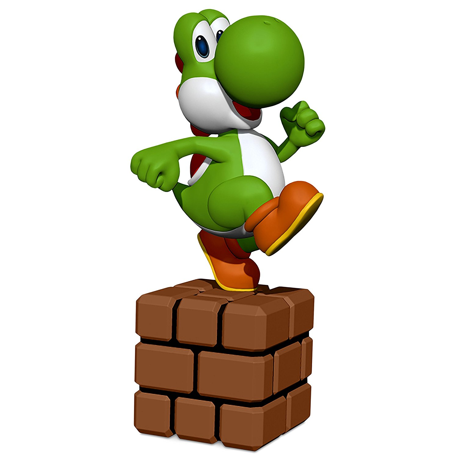 Hallmark Keepsake 2017 Super Mario Yoshi Christmas Ornament
