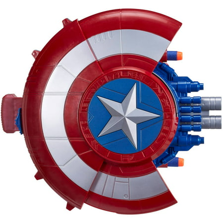Marvel Captain America: Civil War Blaster Reveal Shield - Captain America Shields