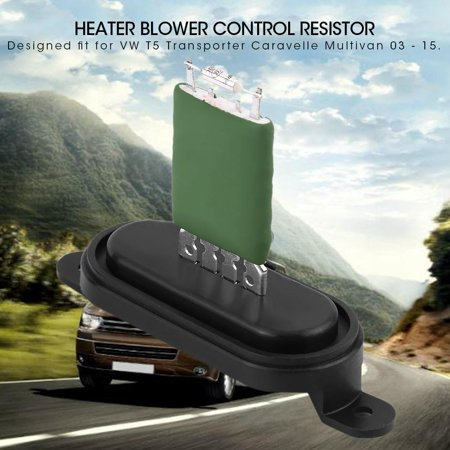 Ejoyous Heater Blower Control Resistor for VW T5 Transporter
