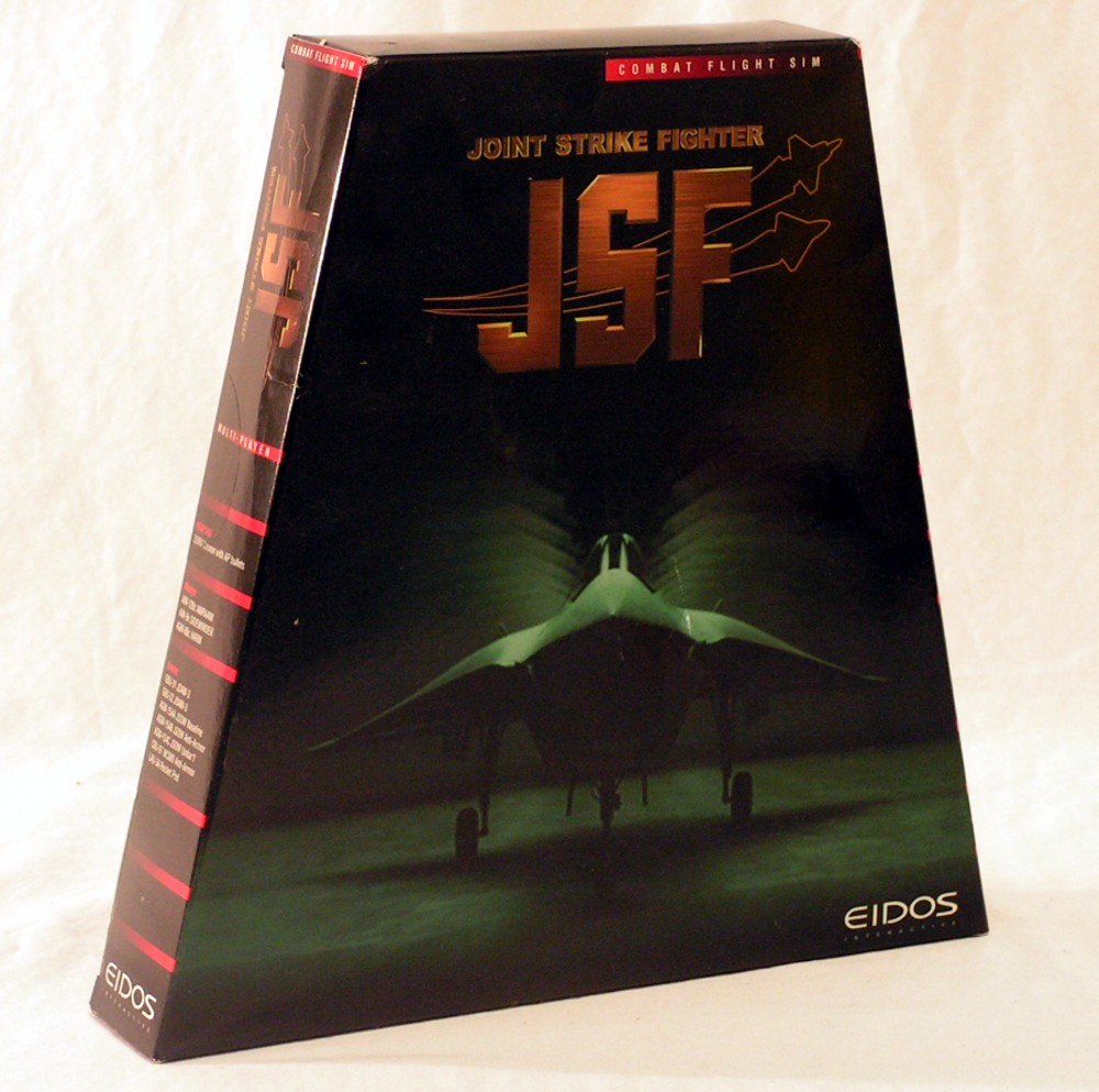 Joint Strike Fighter JSF Combat Flight Sim (PC Game) The Future is Now!