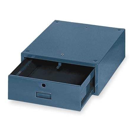 EDSAL Stackable Drawer,17W x 20D x 6-1/2H,Blu PSD3512B