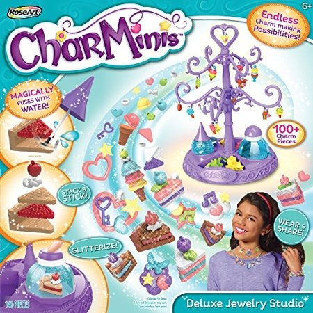 CharMinis Charm Maker Deluxe Jewelry Studio Variety Pack (140 Pieces) (Pendant Maker)
