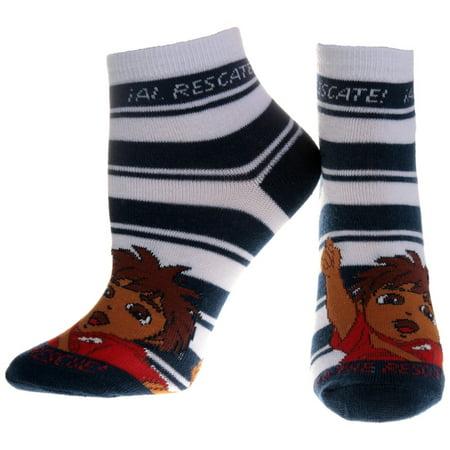 Go Diego Go - Navy Stripes Socks