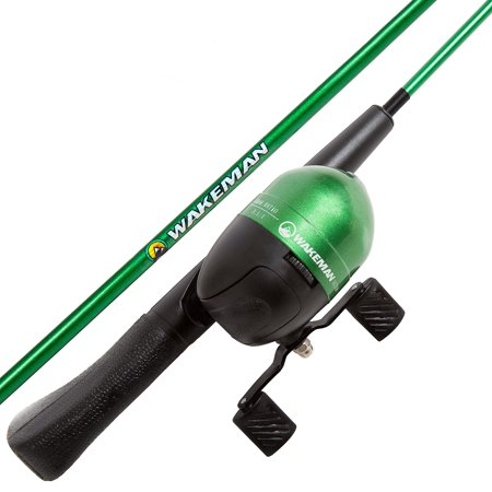 Spawn Series Kids Spincast Combo Fishing Pole and Tackle Set by (Best Freshwater Fishing Pole)
