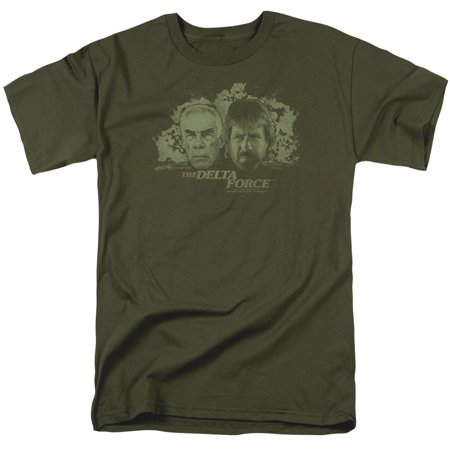 Delta Force Explosion Mens Short Sleeve Shirt