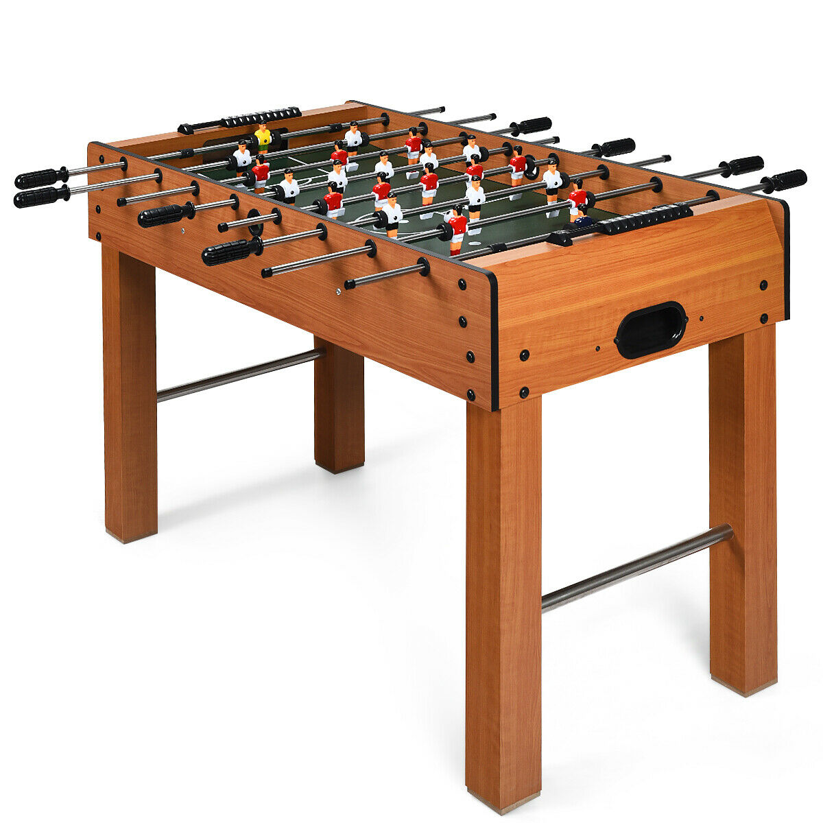 Alomejor Scoring Table Football Competition Foosball Game Table Soccer Indoor Competitive Mini Tabletop Fun Play 2pcs//set