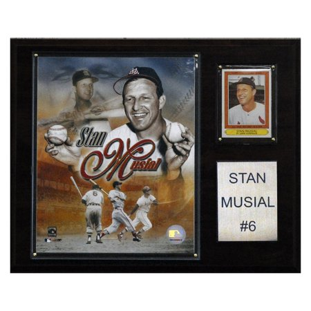 C&I Collectables MLB 12x15 Stan Musial St. Louis Cardinals Player Plaque