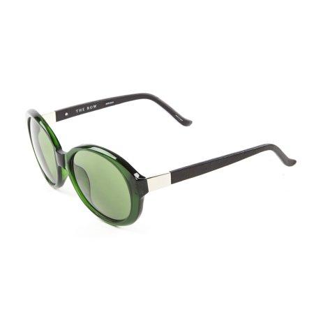 Linda Farrow Women's Jackie-O Sunglasses 57mm Bottle (Linda Farrow Sunglasses Sale)