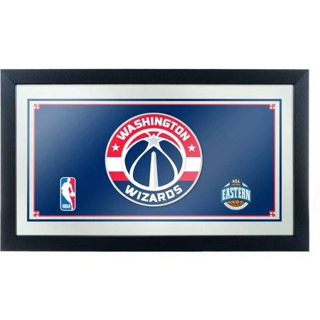 Washington Wizards NBA Framed Logo Mirror by