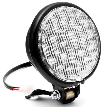 "Krator 5"" Black LED Headlight with Light Mounting Bracket for Harley Davidson Sportster Nightster Roadster 1200 - image 7 of 7"