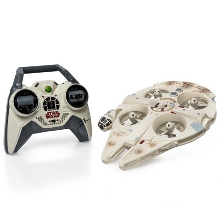 Air Hogs Star Wars Remote Control Ultimate Millennium Falcon Quad](Millennium Falcon Rc)