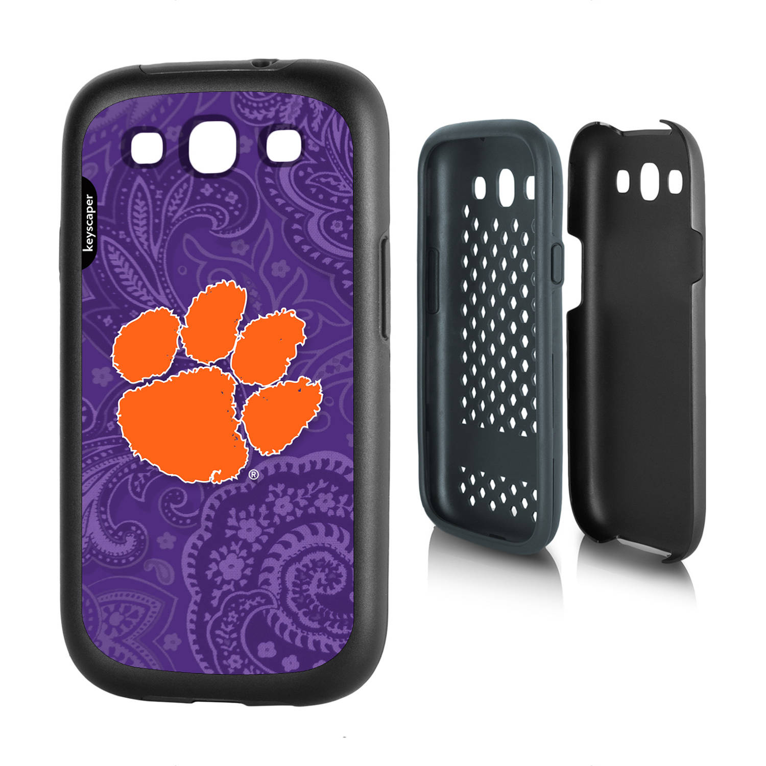 Clemson Tigers Galaxy S3 Rugged Case