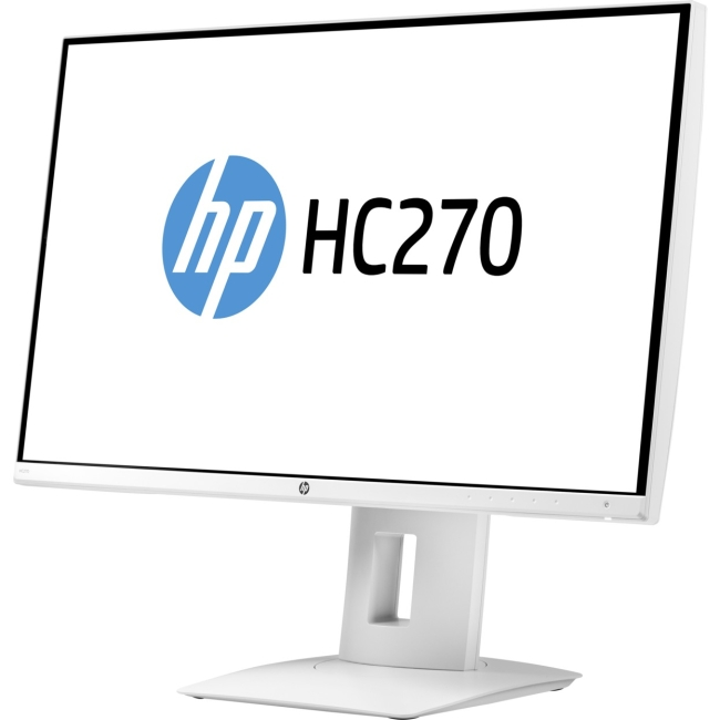 "HP HC270 27"" QHD 2560x1440 LED Healthcare Edition Display, Open Box"