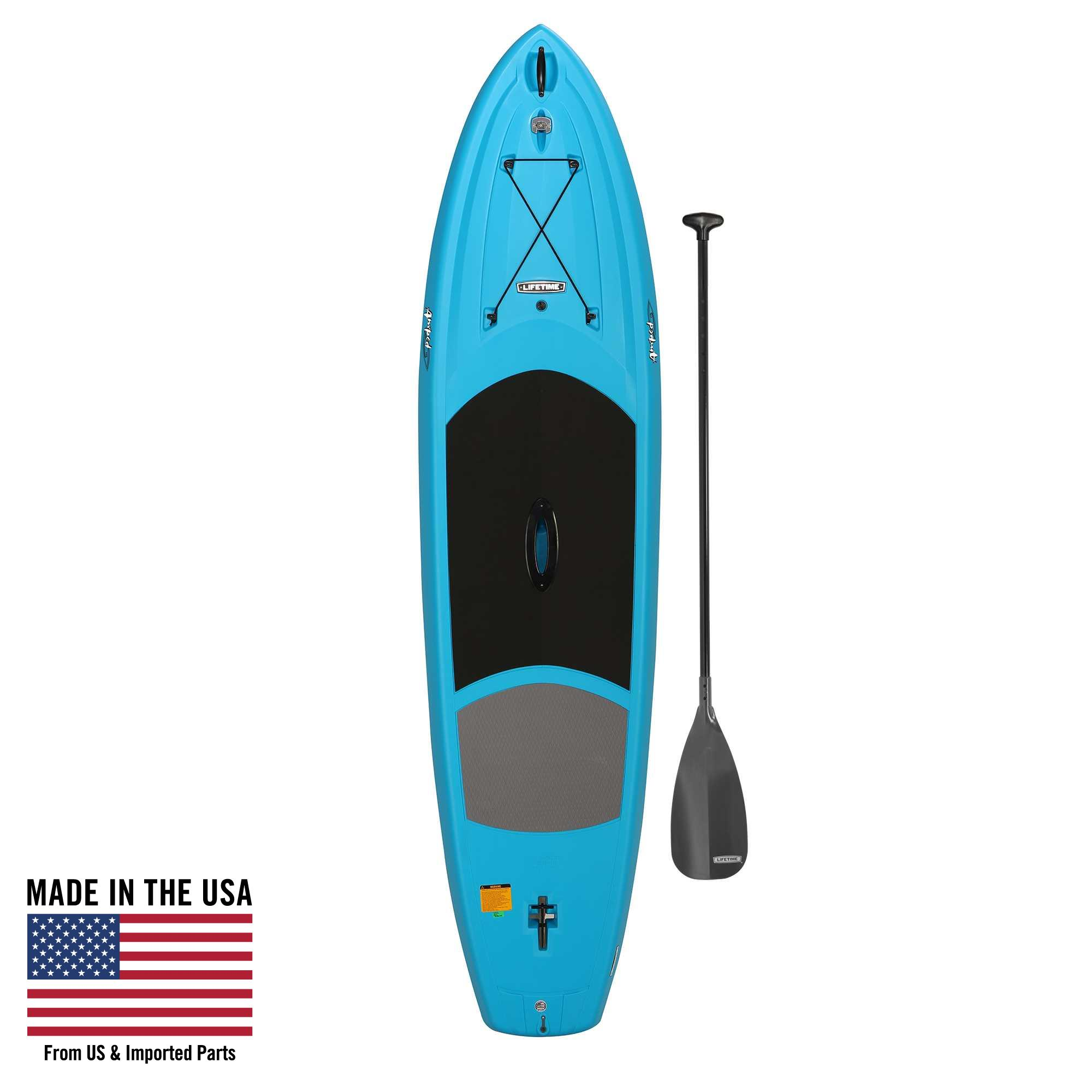 Lifetime 11' Amped Stand Up Paddleboard, Glacier Blue with Bonus Paddle