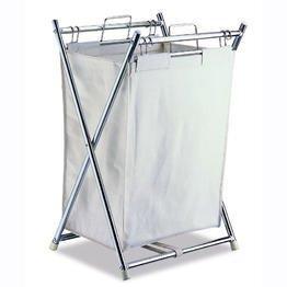 Folding Hamper w/ Canvas Pull-out Bag - image 1 de 1