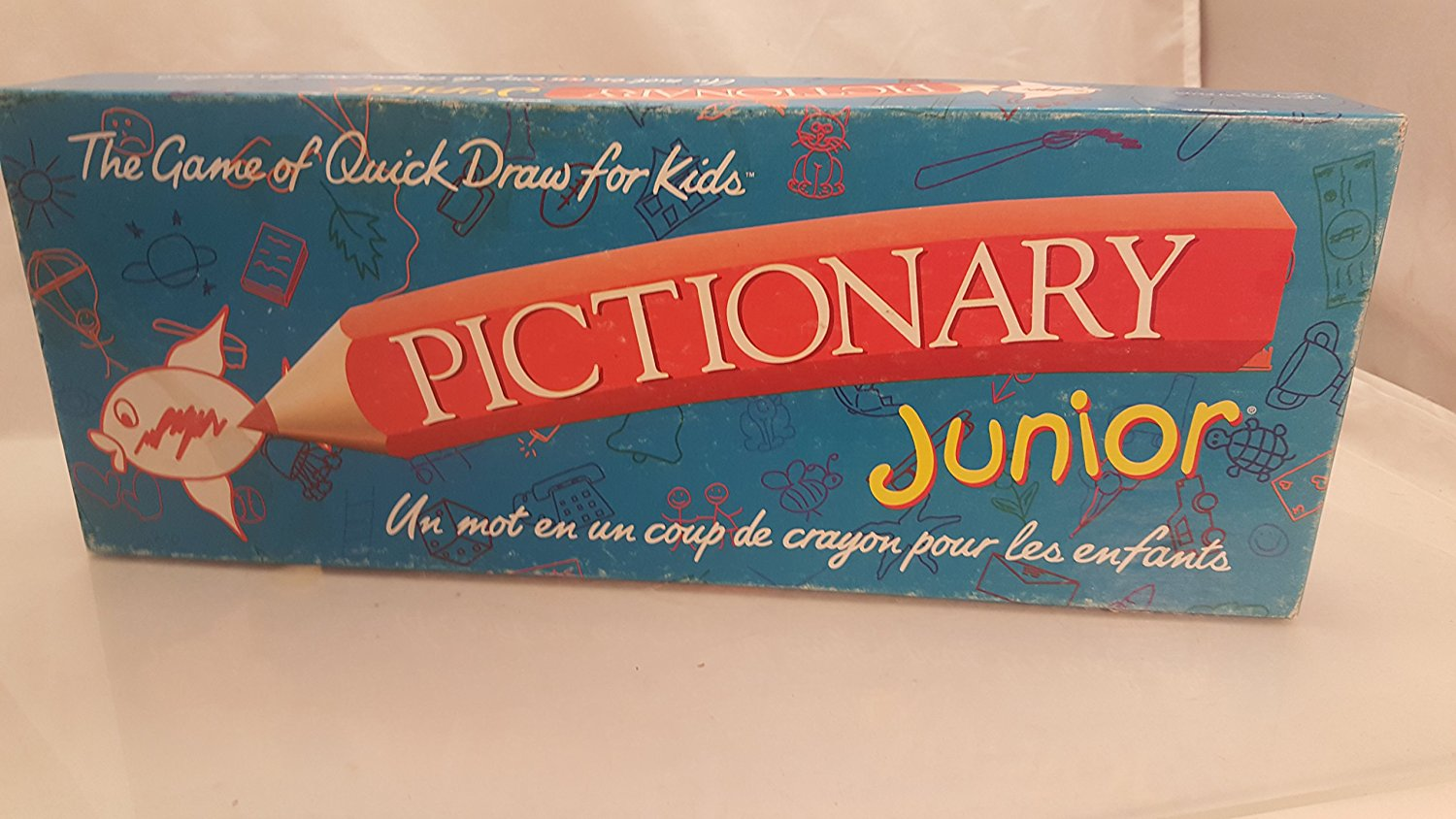 Pictionary Junior; the Game of Quick Draw (1999 Vintage) by, The game of quickdraw... by