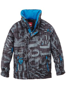 Quiksilver Boys Snow Jacket Youth Size Small 10