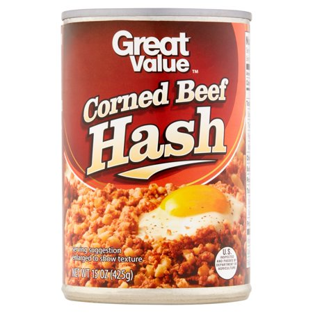 Great Value Corned Beef Hash, 15 oz