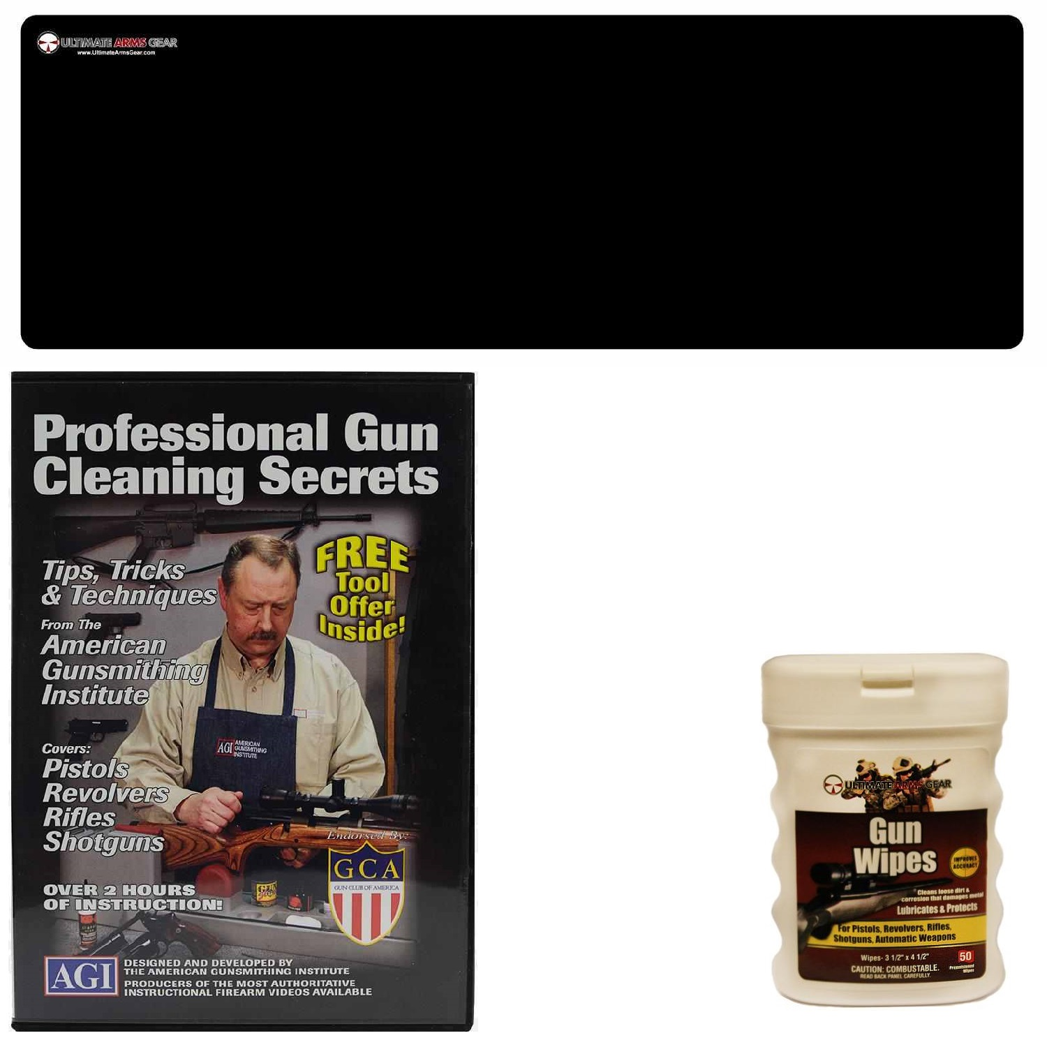 AGI DVD Professional Gun Cleaning Course Secrets Winchester Model 52 Sporter 70 71 94 Rifle + Ultimate Arms Gear... by