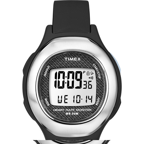 Timex Strapless Heart Rate Monitor Midsize Watch (Black, ...