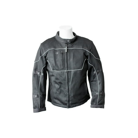 RoadDog Hurricane Mesh Jacket - Motorcycle Riding Jacket - Black - Women's (Black Ride 2 Jacket)