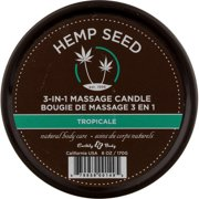 Earthly Body Round Candles, Tropicale, 6.8 Ounce