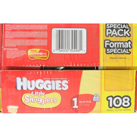Huggies Little Snugglers Diapers Super Pack Choose Your Size