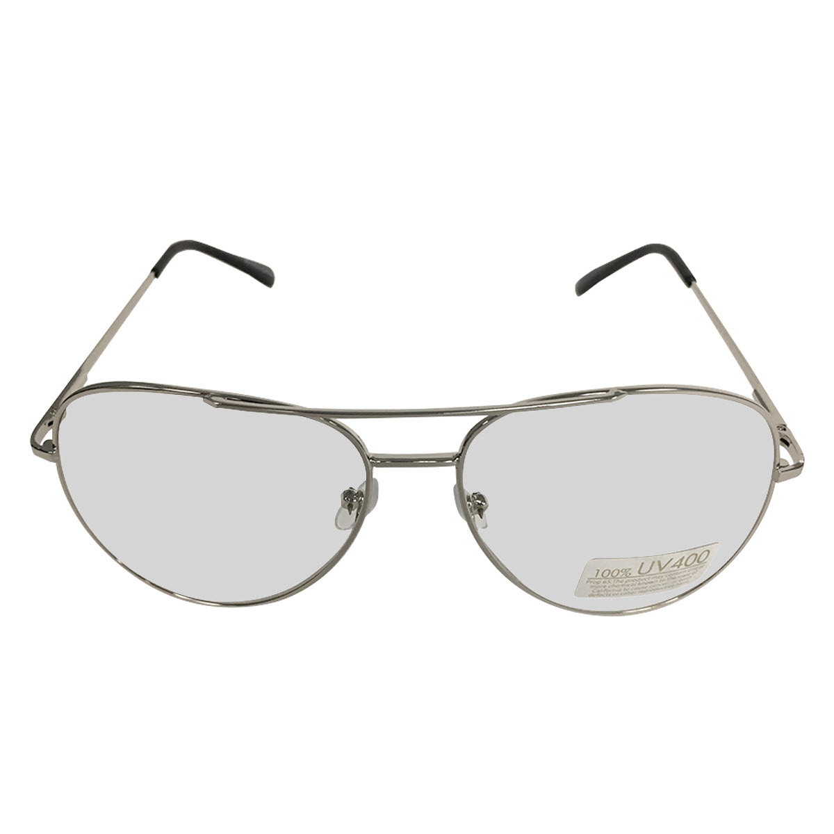 5f010812089 Silver Frames With Clear Lens Aviator Glasses Napoleon Dynamite ...