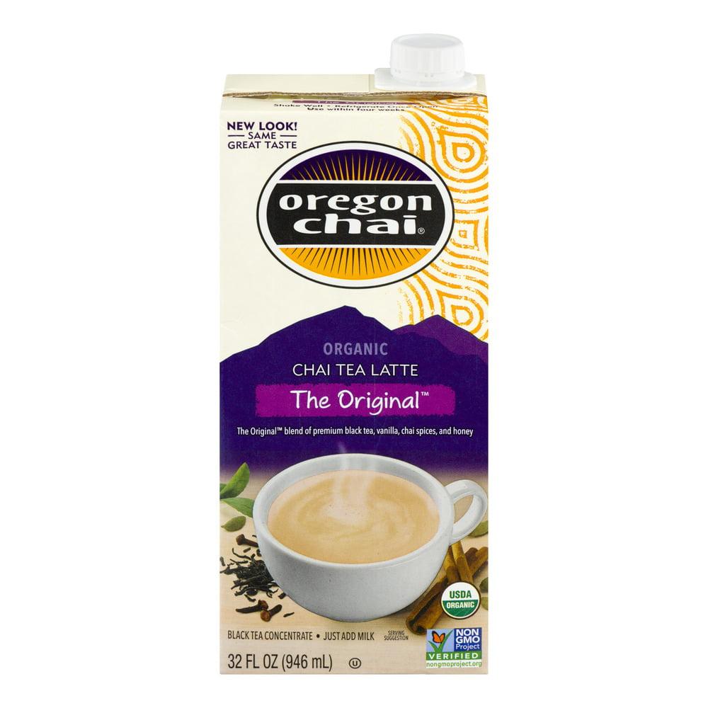 (2 Boxes) Oregon Chai Concentrate, Original, Organic, Non-GMO Verified, 32 Fl Oz