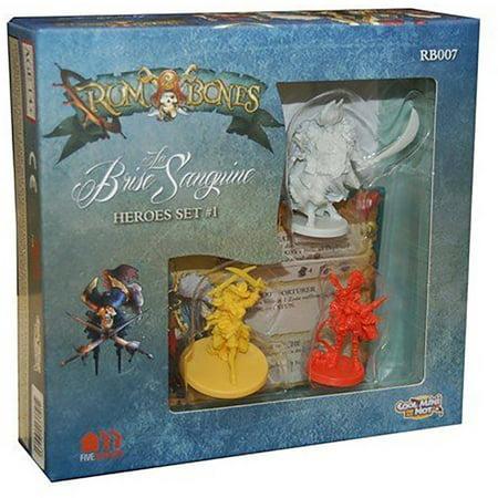 Rum and Bones La Brise Sanguine Hero Set 1 Board Game](Baby Hero Games)