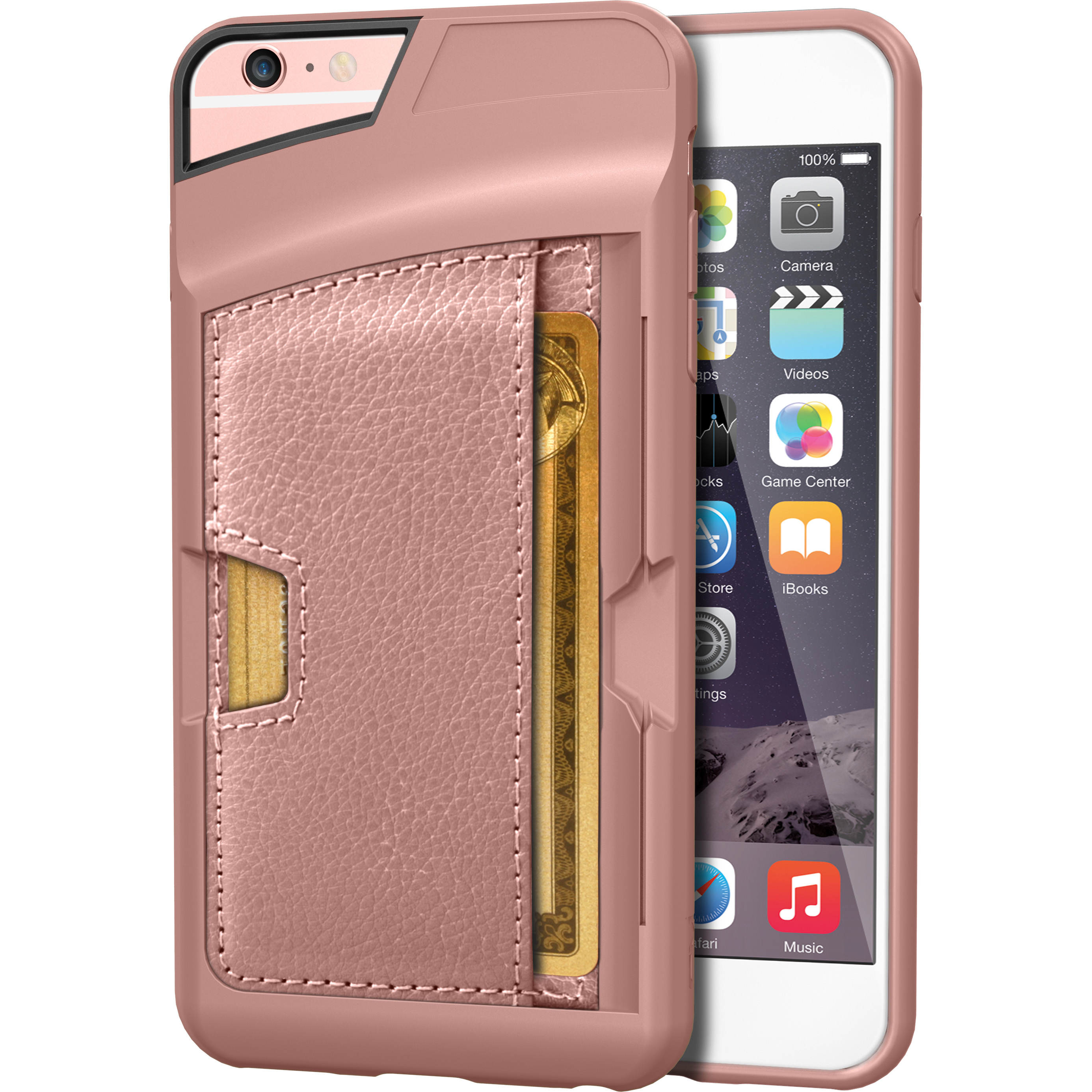 new style a44eb e508d iPhone 6 Plus/6s Plus Wallet Case - Q Card Case for iPhone 6+/6s+ (5.5