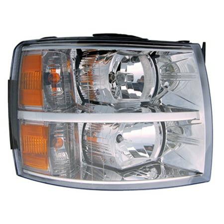 2007-2013 Chevrolet Silverado 1500  Aftermarket Passenger Side Front Head Lamp Assembly 22853028