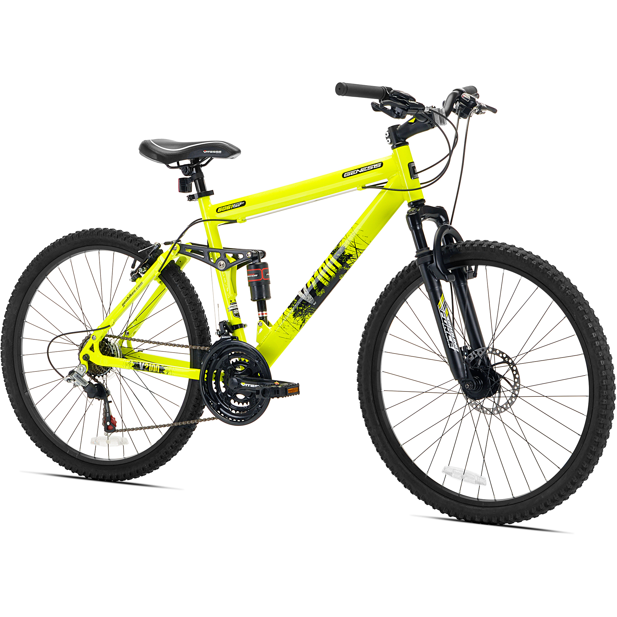 26 Genesis V2100 Men S Mountain Bike Yellow