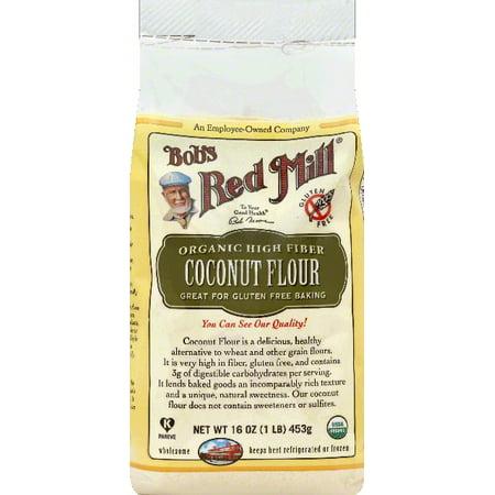 Bob's Red Mill Organic High Fiber Coconut Flour, 16 oz