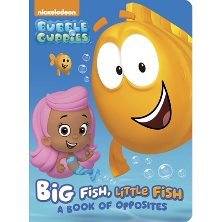 Big Fish Little Fish A Book of Opposites (Board - Opposites Childrens Board Books