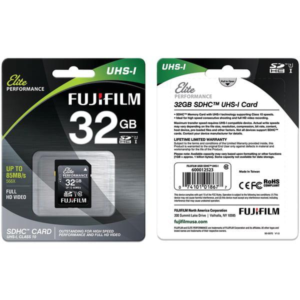 Fuji 32GB SDHC UHS-I ELITE CRD