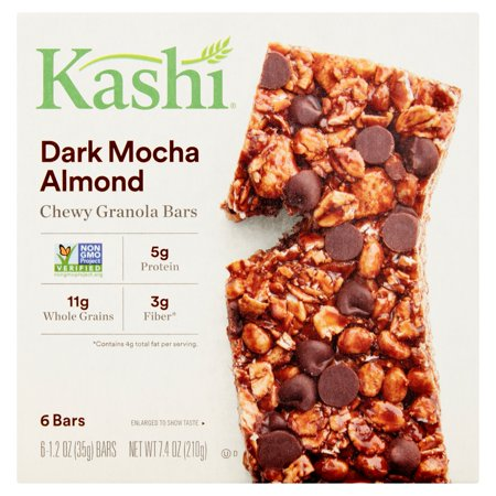Calories Quaker Chewy Granola Bar (Kashi Dark Mocha Almond Chewy Granola Bars, 1.2 oz, 6 count, 6)