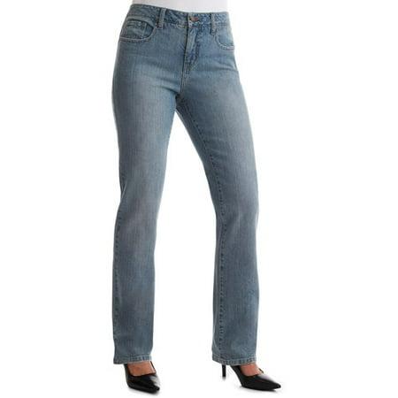 Faded Glory - Women's Classic-Fit Jeans - Walmart.com